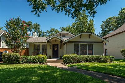 Dallas Single Family Home For Sale: 6351 Velasco Avenue