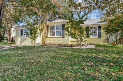 Dallas Single Family Home For Sale: 10714 Joaquin Drive
