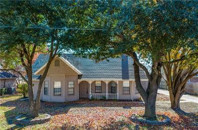 Waxahachie Single Family Home Active Option Contract: 137 Country Drive
