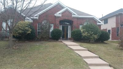 Allen Single Family Home For Sale: 810 Idlewood Drive