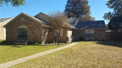 Garland Single Family Home Active Option Contract: 110 Kingsbridge Drive