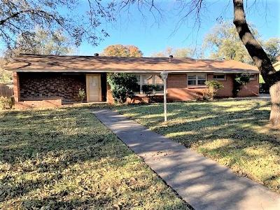 Abilene Single Family Home For Sale: 1410 Sylvan Drive
