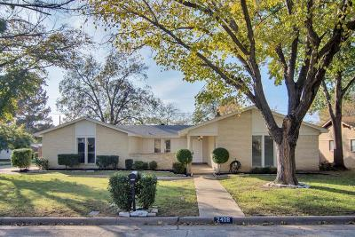 Arlington Single Family Home For Sale: 2408 Zapata Drive
