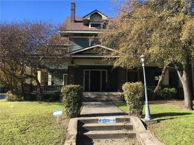 Dallas Single Family Home For Sale: 5201 Reiger Avenue