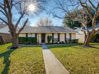 Garland Single Family Home Active Option Contract: 3825 Lancelot Place