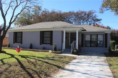 Dallas, Fort Worth Single Family Home For Sale: 10811 Stallcup Drive