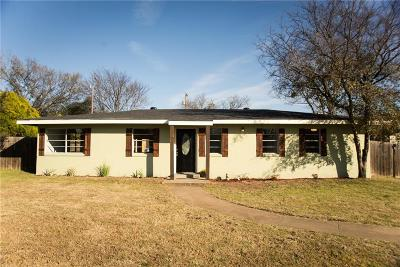 Weatherford Single Family Home For Sale: 1206 Liberty Street