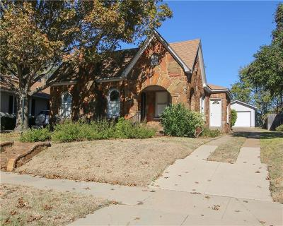 Dallas, Fort Worth Single Family Home For Sale: 4114 Pershing Avenue