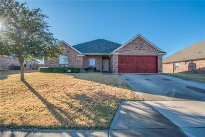 Weatherford Single Family Home Active Option Contract: 312 Lockwood Lane