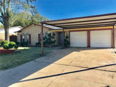 Haltom City Single Family Home Active Option Contract: 5632 Macrae Street
