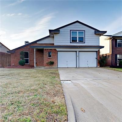 Mansfield Single Family Home Active Option Contract: 747 Nightingale Circle