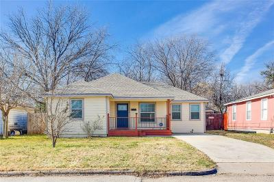 Grand Prairie Single Family Home Active Option Contract: 502 Royal Avenue