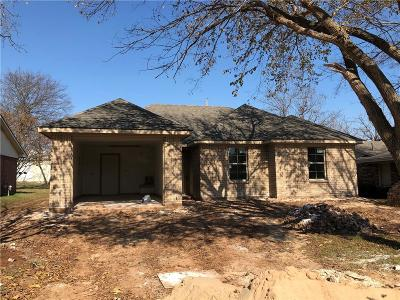 Sherman Single Family Home Active Option Contract: 2211 Alma