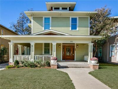 Dallas, Fort Worth Single Family Home For Sale: 315 N Montclair Avenue