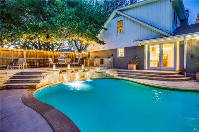 Dallas, Fort Worth Single Family Home For Sale: 5051 Forest Bend Road