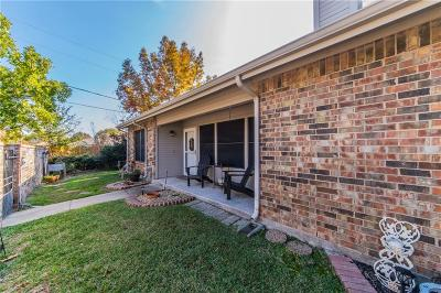 Benbrook Townhouse Active Option Contract: 933 Forest Creek Street