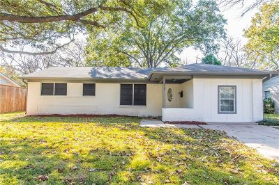 Richardson Single Family Home For Sale: 512 Fairview Drive