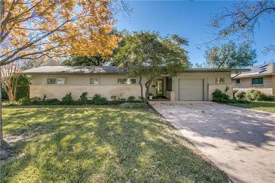 Richardson Single Family Home Active Option Contract: 807 James Drive