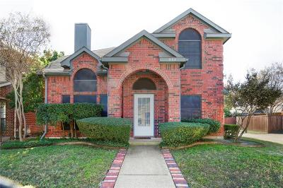 Coppell Single Family Home Active Option Contract: 333 Leisure Lane
