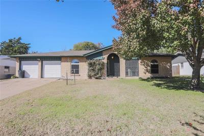 Ennis Single Family Home For Sale: 2305 Woodlawn Drive