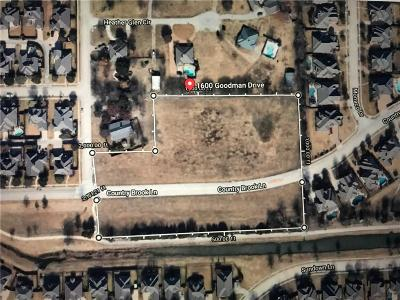 Allen Residential Lots & Land For Sale: 1600 Goodman Drive