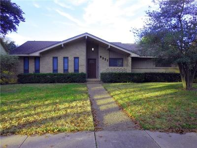 Single Family Home For Sale: 9921 Tanglevine Drive