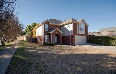 Keller Single Family Home Active Option Contract: 2118 Rim Rock Drive