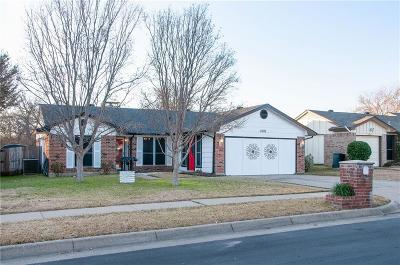 Haltom City Single Family Home Active Option Contract: 5701 Whitley Road