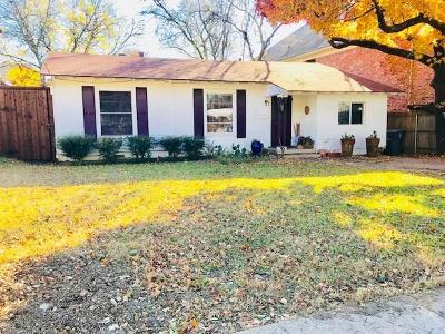 Single Family Home For Sale: 4210 Bonham Street