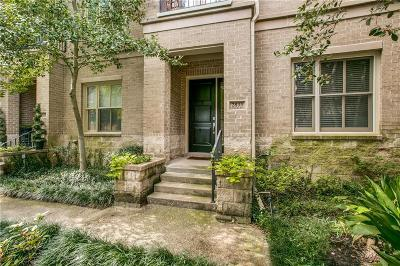 Dallas County Townhouse For Sale: 2833 Thomas Avenue