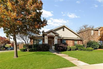 McKinney Single Family Home Active Option Contract: 4728 Brighton Drive