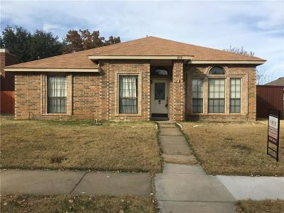 Lewisville Single Family Home For Sale: 979 Downey Drive