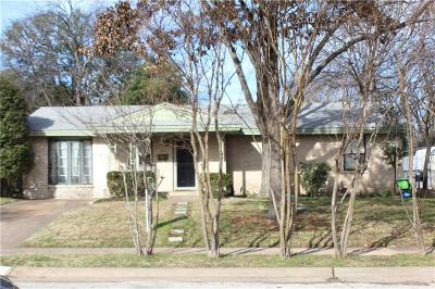 Irving Single Family Home For Sale: 2315 Cambridge Drive