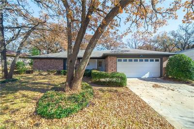 North Richland Hills Single Family Home Active Option Contract: 7604 Hightower Drive
