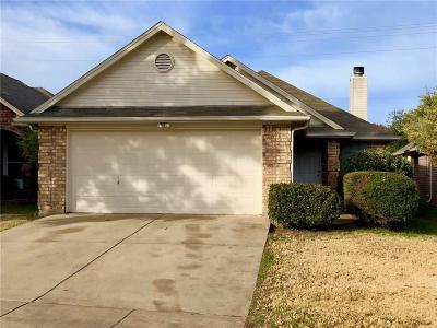 Azle Single Family Home Active Option Contract: 619 Stribling Circle