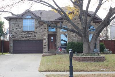 Lewisville Single Family Home For Sale: 918 Silverstone Drive
