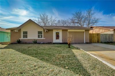 Garland Single Family Home Active Option Contract: 1422 Meridian Way