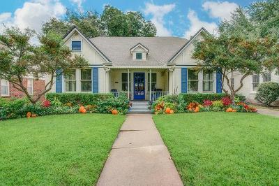 Dallas County Single Family Home For Sale: 5131 Vanderbilt Avenue