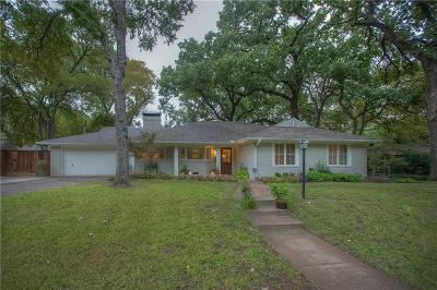 Fort Worth Single Family Home For Sale: 3005 Preston Hollow Road