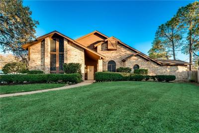 Euless Single Family Home Active Contingent: 801 Forestcrest Court