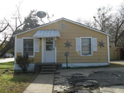 Single Family Home For Sale: 808 Jefferson Street