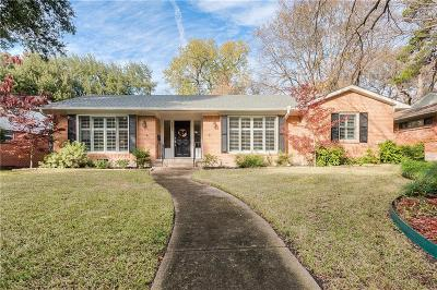 Single Family Home Active Option Contract: 9835 Shadydale Lane