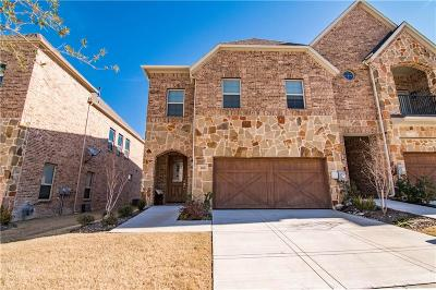Denton County Townhouse For Sale: 4248 Colton Drive
