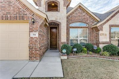 Crowley Single Family Home Active Option Contract: 516 Hummingbird Trail