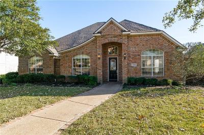 Irving Single Family Home Active Option Contract: 2406 Creekside Circle N