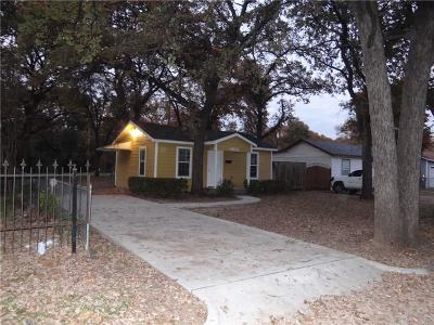 Haltom City Single Family Home For Sale: 3931 Mercury Street
