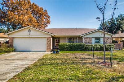 Benbrook Single Family Home Active Option Contract: 1416 Timberline Drive