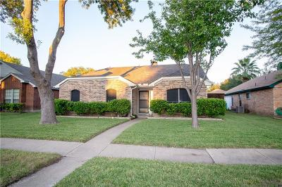 Garland Single Family Home Active Option Contract: 2706 Lake Valley Drive