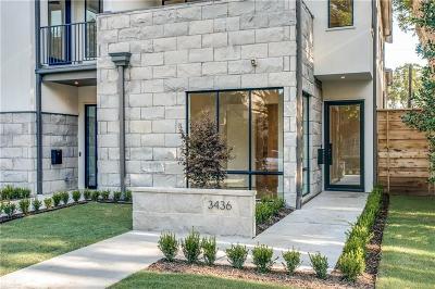 Highland Park, University Park Single Family Home For Sale: 3436 Normandy Avenue