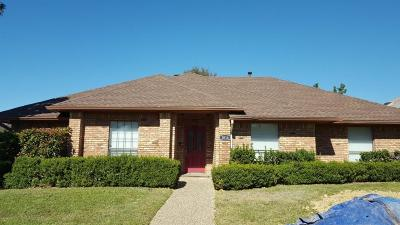 Irving Single Family Home For Sale: 1016 Old Mill Circle